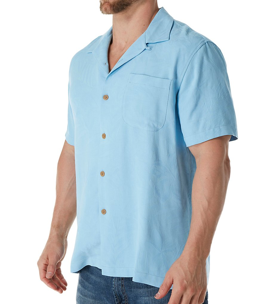 Tommy Bahama T316595 Coastal Fronds Silk Original Fit Camp Shirt Calvin Klein Microfiber Steel Brief This Classic Features A Relaxed Comfortable Subtle Textured